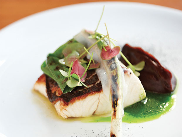 Image caption: Meal at the Bridge Room, one of our participating restaurants